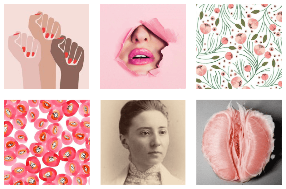 clelia duel mosher collection - inspiration