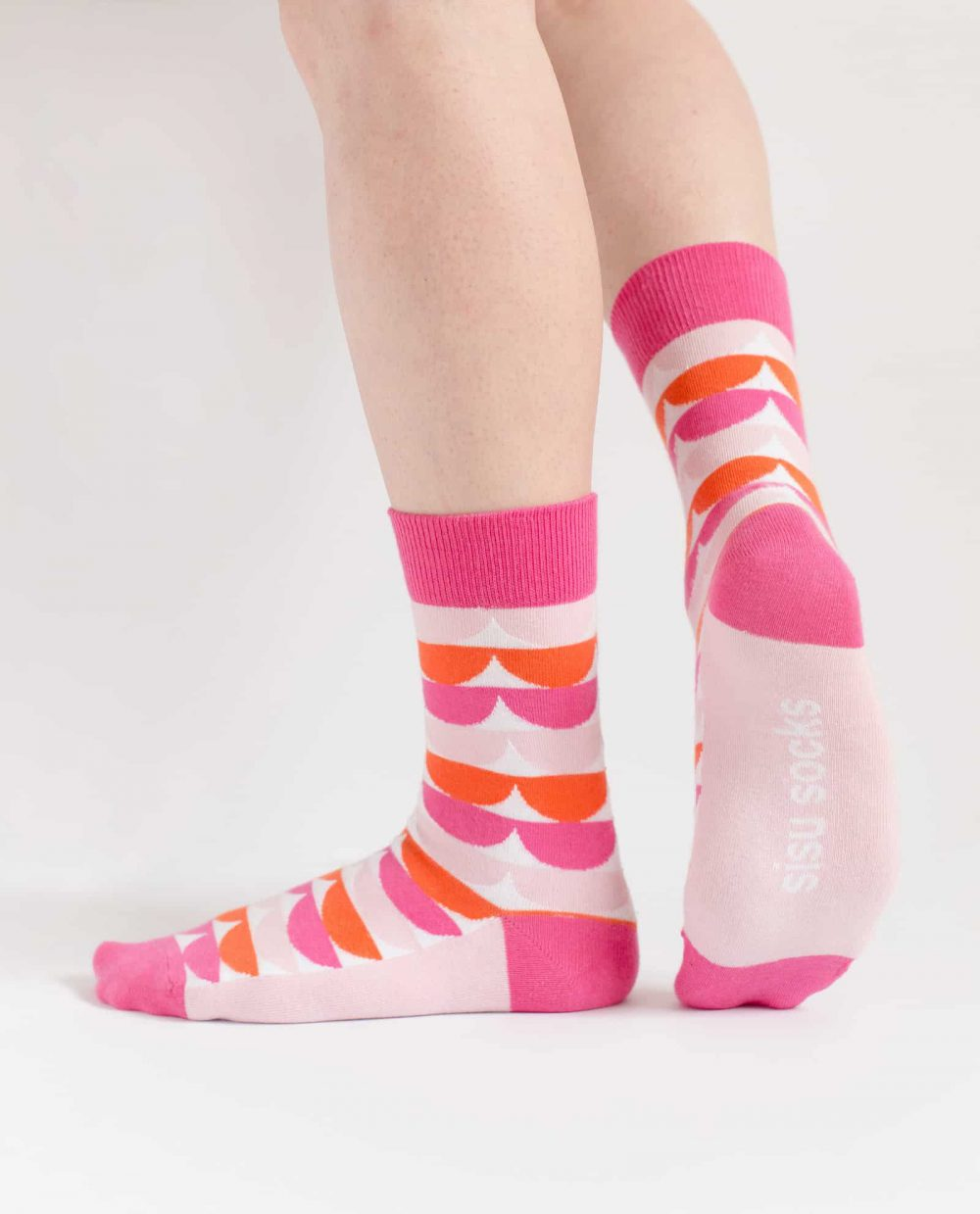 funny pink socks for women from sisu socks