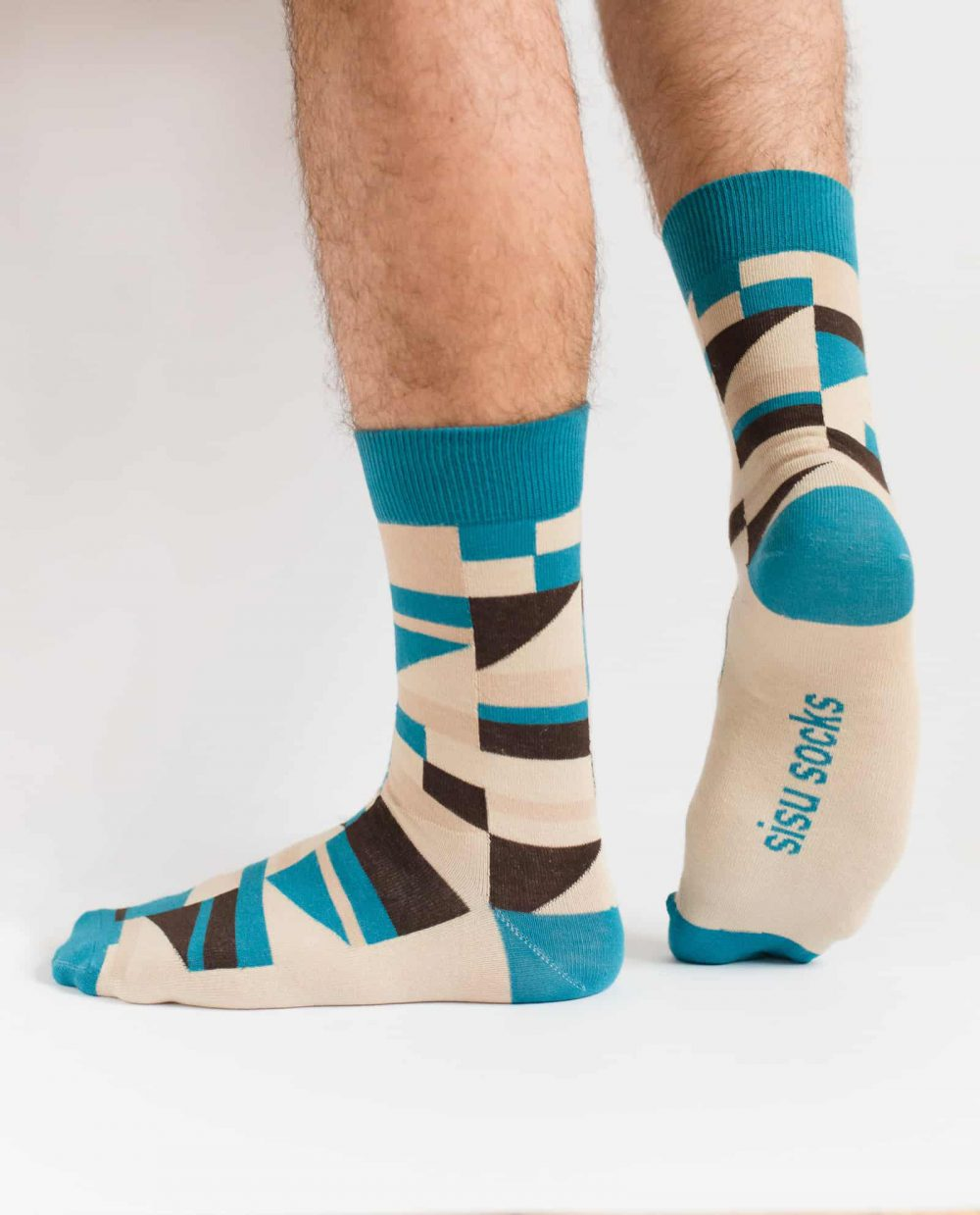 may ayim socks for men inspired by blues in Schwarzweiß from sisu socks