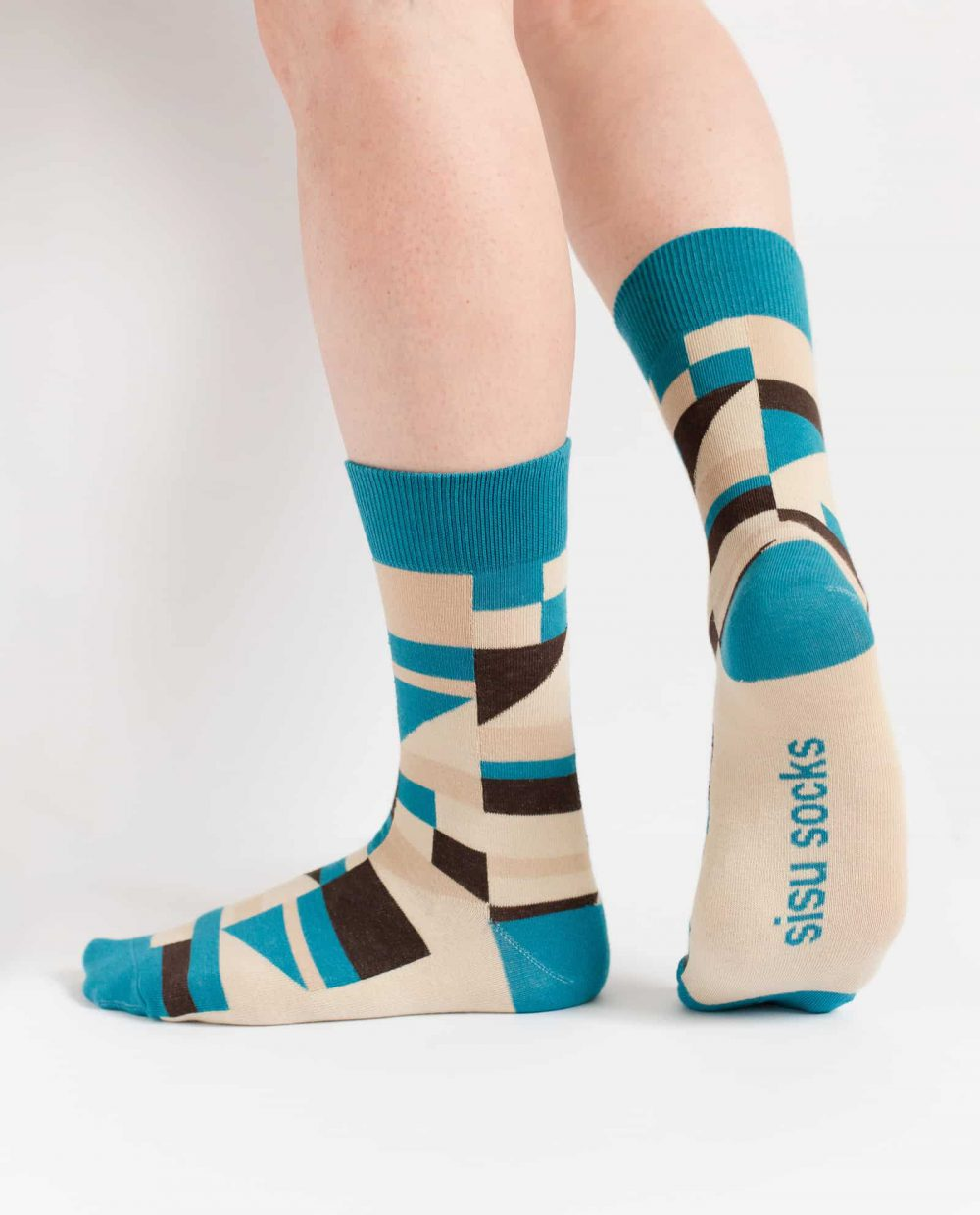 may ayim socks for women inspired by blues in Schwarzweiß from sisu socks