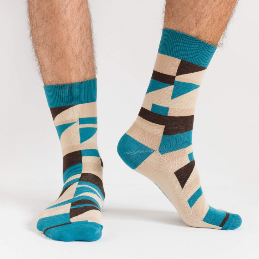 may ayim socks for men inspired by blues in Schwarzweiß