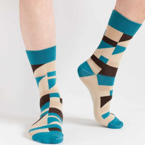 may ayim socks for women inspired by blues in Schwarzweiß