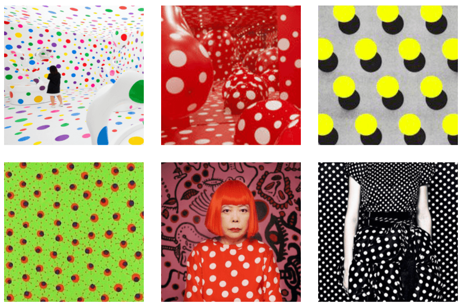 yayoi kusama collection - inspiration