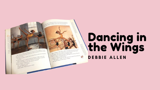 one of the pages in the feminists kids book dancing in the wings